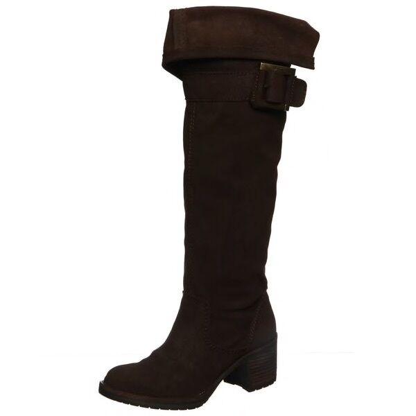 vendite online Zodiac Aussie Over The Knee Leather stivali Marrone Marrone Marrone 7.5  spedizione e scambi gratuiti.
