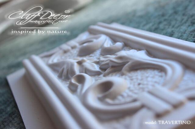 10 plastic molds *TRAVERTINO* for concrete veneer wall stone stackstone tiles