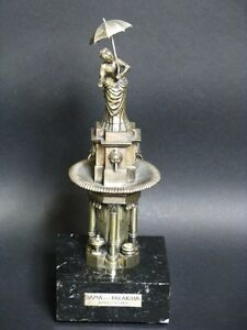 "Mexiko 915 Silber Figur ""lady Paraigua Barcelona"" Silver Figure Figurine Um 1920 Antiquitäten & Kunst"