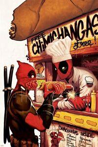 Marvel Deadpool Poster - 24x36