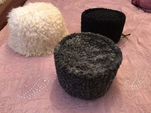 Original russian caucasian kubanka Natural Astrakhan  karakul hat winter cap