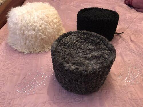 Original russian caucasian kubanka Natural Astrakhan  karakul hat winter cap