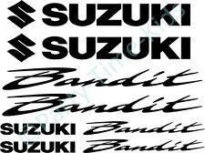 Suzuki Bandit GSF 600 750 1200 Motorbike Vinyl Decal Set Stickers Graphics