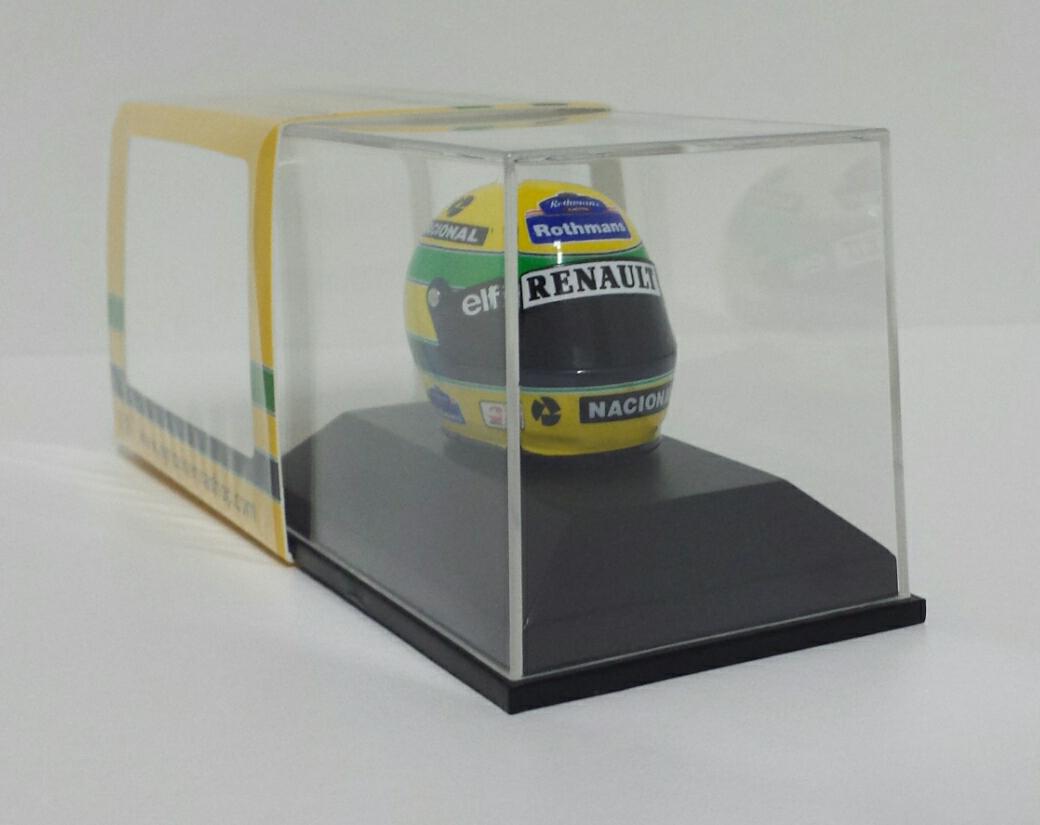 Minichamps Ayrton Senna Model Helm Helmet 1 8 F1 Gp San Marino 1994 Diecast