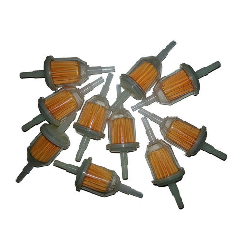 """10X Universal Gas Inline Fuel Filters Replaces for Kawasak 1//4/"""" X 5//16 Inch I4O1"""