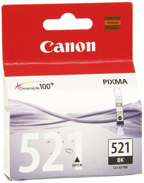 original Canon Tintenpatrone Tinten-Patrone CLI-521 bk NEU
