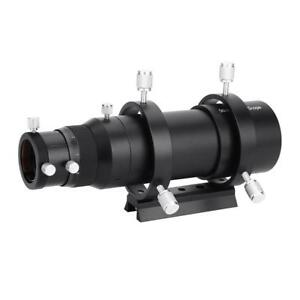 Aluminium-50mm-Guide-Scope-Finderscope-with-Bracket-for-Astronomical-Telescope