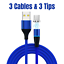 miniature 14 - Magnetic USB Type C Fast Charging Cable Charger Cord For Samsung S8 S9 10 20 21