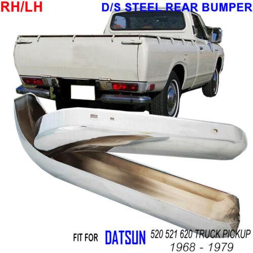 DATSUN 521 1600 CLASSIC SPORT 1.5 L J15 I4 1969–1970 STAINLESS STEEL BUMPER PAIR