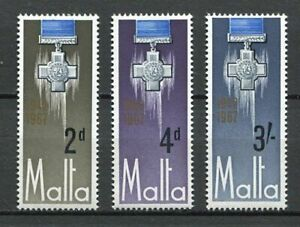 29778) Malta 1967 MNH New George Cross 3v