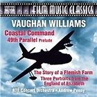 Ralph Vaughan Williams - Vaughan Williams: Coastal Command; 49th Parallel Prelude; The Story of a Flemish Farm; Three Portrai (2016)