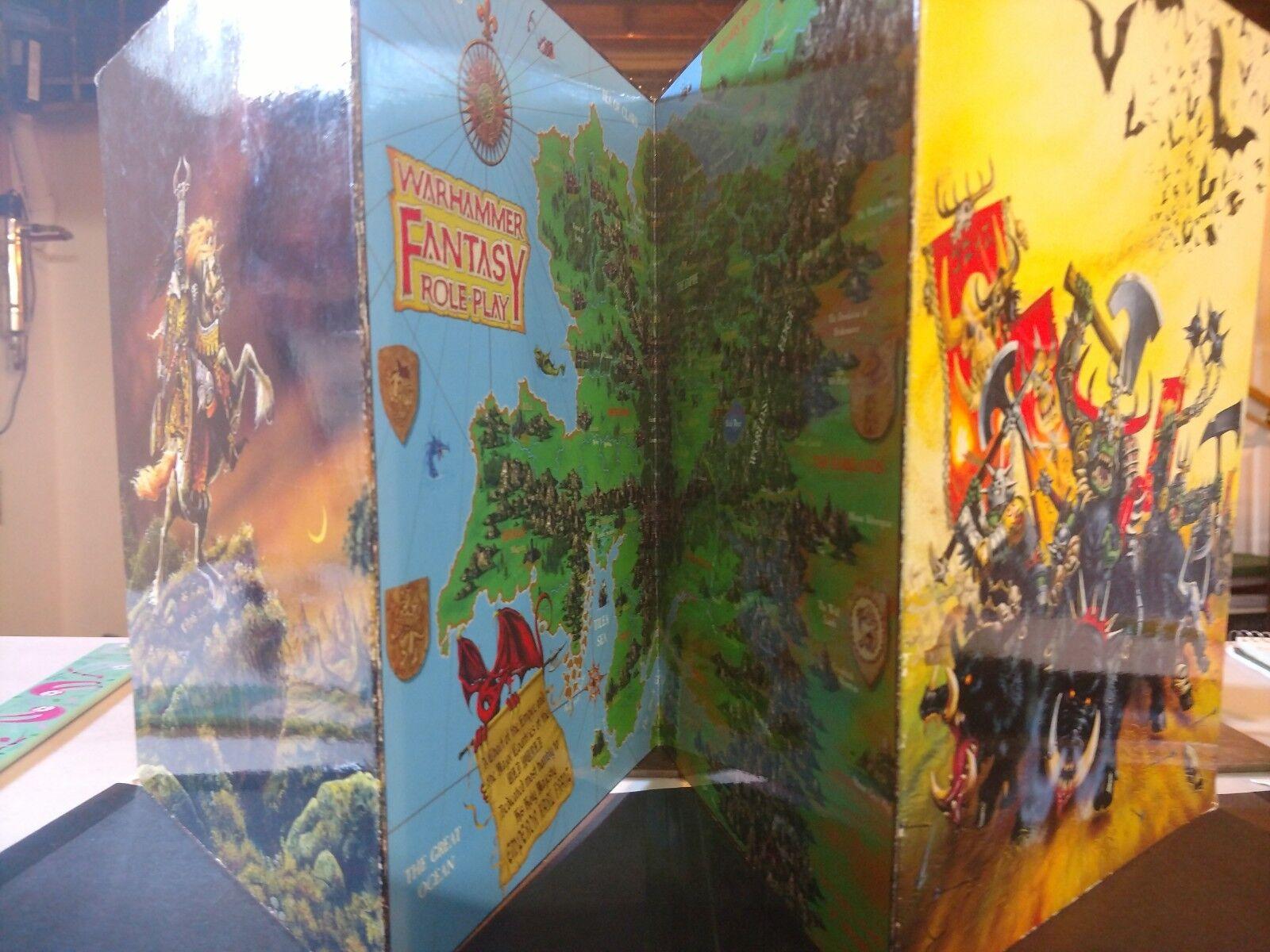 GW Warhammer fantasyc roleplay GM Screen e Critical  Hits librolet  sconto prezzo basso