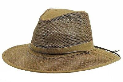 Henschel Men/'s Packable Aussie Breezer Earth Safari Hat