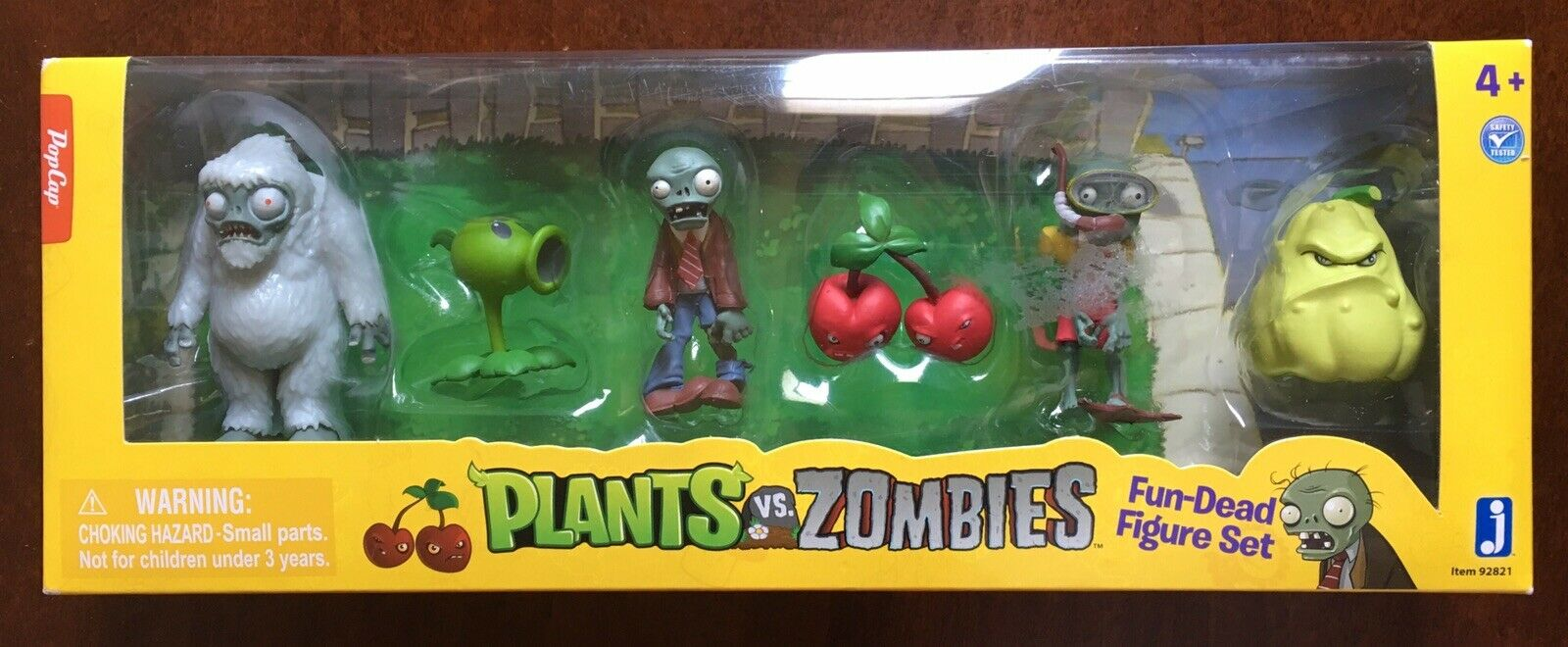 Plants vs Zombies Fun-Dead Mini Figure 6-Pack Rare OOP Box Set (NEW, SEALED)