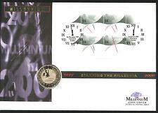 1999/2000 - Spanning the Millennia Coin CC - £5 Coin & Greenwich Pmk