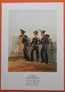Lauenburger Chasseur Corps Herzogthum Holstein Kl. Uniforme Monten Pierre Pression 1978-afficher Le Titre D'origine