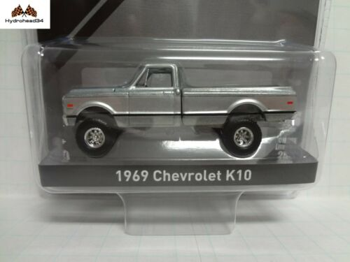 Greenlight RAW Chase 1969 Chevrolet K-10 RAW//Silver Mijo Exlusive