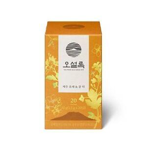 Osulloc 20 Tea Bags Canola Flower And Honey Tea Flower Blending Tea Jeju Tea 7106793255443 Ebay