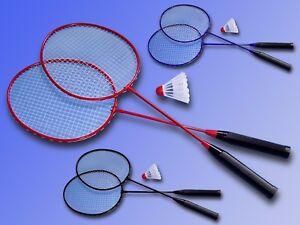 Badminton / Badminton Set, 2 Volant Raquette En Métal + 1 Balle