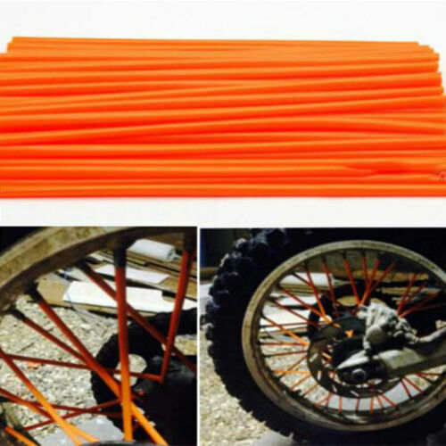 72x Bicycle Spoke Wrapping Coat Decorative Cover Tube MotorcycleBDZ1