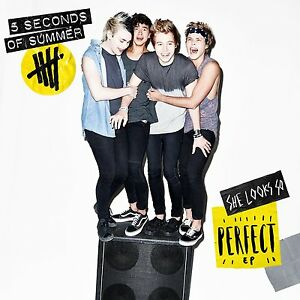 5-SECONDS-OF-SUMMER-SHE-LOOKS-SO-PERFECT-EP-CD-Sticker-2014