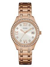Orologio Donna GUESS W0848L3 Bracciale Acciaio Rosè Swarovski Bianco