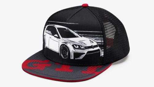 VW GTI Baseballcap Trucker Stil Snapback Cap Kappe Mütze Hut Basecap 5KA084300