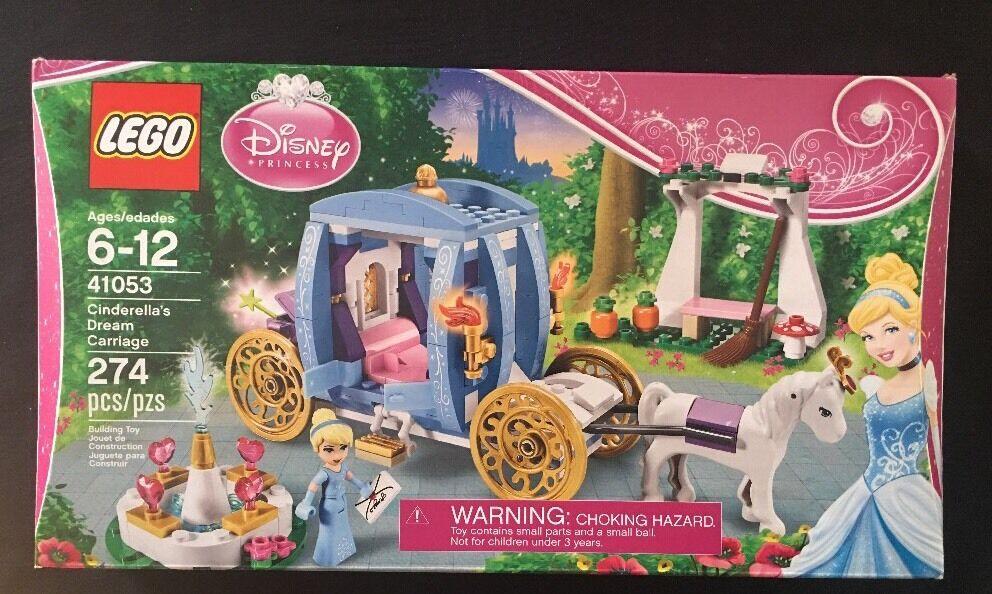 Lego Cinderella's Dream Carriage 41053 New Sealed HTF