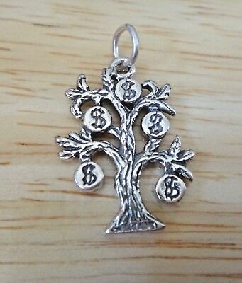 Sterling Silver 3D 21x16mm Movable Bicycle Bike Charm