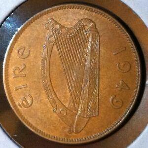 Ireland-Penny-KM-11-CH-BU-1949