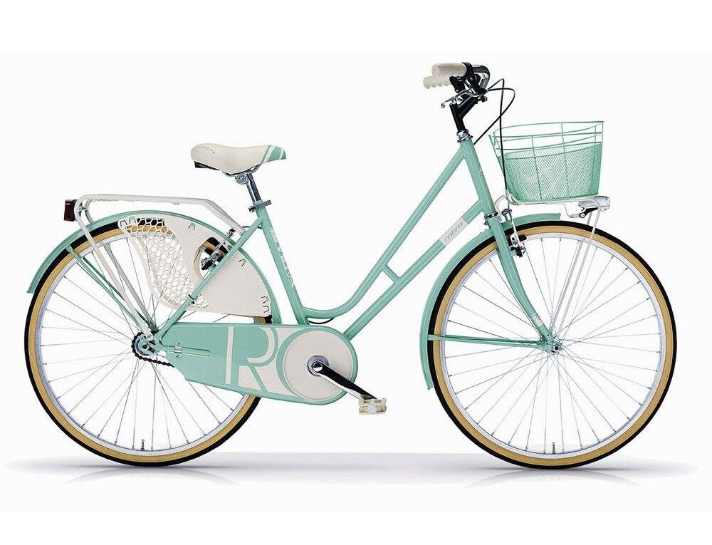Bicicletta femmes MBM Riviera Mod. 906 19 - 26  - h46 - Acciaio - 5 Couleuri