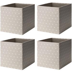 Ikea Drona 4 Set Fach Box Expedit Kallax Regal Aufbewahrungsbox