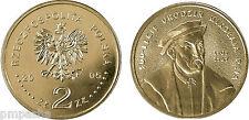 "Poland 2005 - 2 zlotych ""Mikołaj Rej (1505-1569) - 500th Anni of the Birth"" UNC"