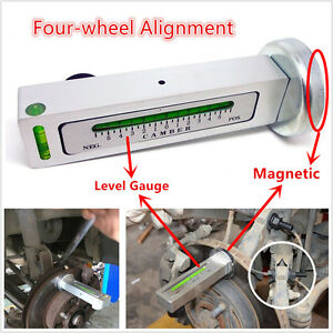 New-Magnetic-Level-Gauge-Tool-Four-wheel-Alignment-For-Car-Truck-Camber-Castor