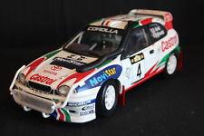 AutoArt Toyota Corolla WRC 1999 1:18 #4 Auriol / Giraudet Safari Rally (AK)