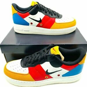 viernes Llevando Irradiar  Nike Air Force 1 Low PRM Basketball Shoes Mens Multicolor (CI0065-101) Sz  13 US | eBay