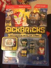 Sick Bricks Team 5 Character Pack Tightpants Trooper VS Dublo Sven Game New!!!