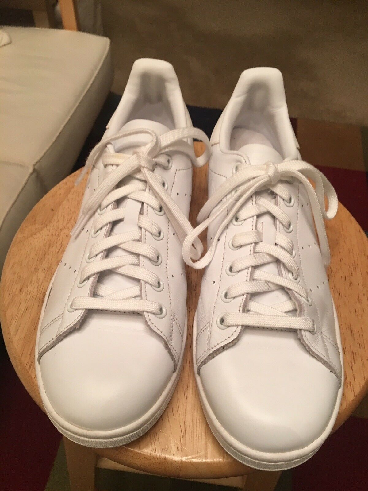 Adidas Stan Smith White US10 Leather India Athletic Sneakers shoes