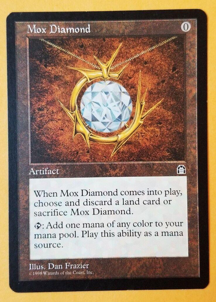 Vintage Magic   MTG Stronghold Mox Diamond, NM MINT, RESERVE LIST