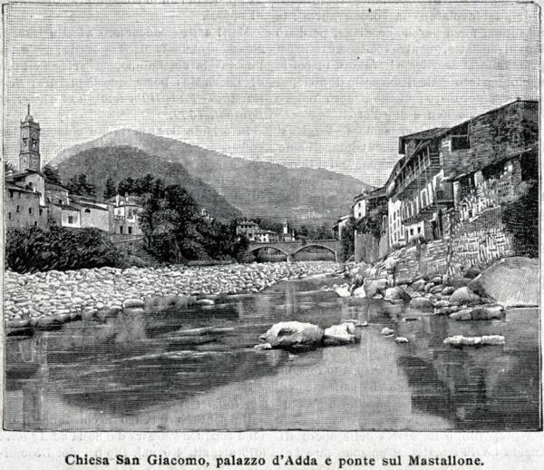 Flight Tracker Varallo Sesia: Chiesa San Giacomo, Palazzo D'adda E Ponte Sul Mastallone. 1900