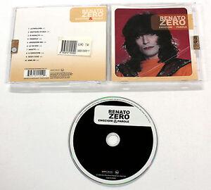 Renato-Zero-EMOZIONI-amp-PAROLE-2006-Sony-CD