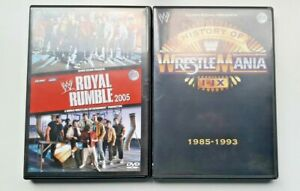 WWE-Wrestling-Royal-Rumble-2005-History-of-Wrestlemania-1985-1993-DVD