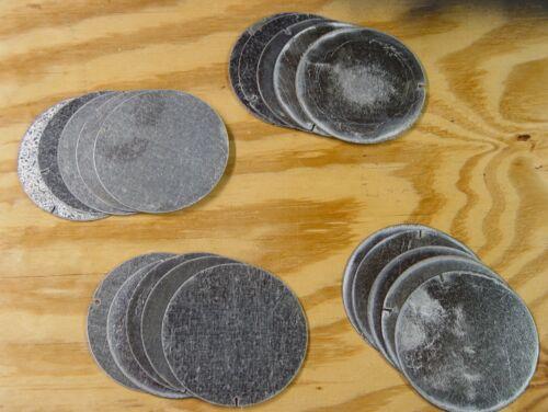"crafts discs hobbies 5-pc round galvanized sheet metal disks 4/"" diameter"