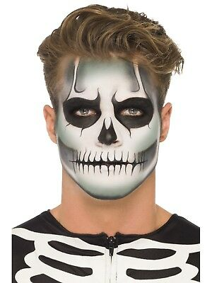 Skeleton Makeup Scary Halloween Costume Special FX Fancy Dress
