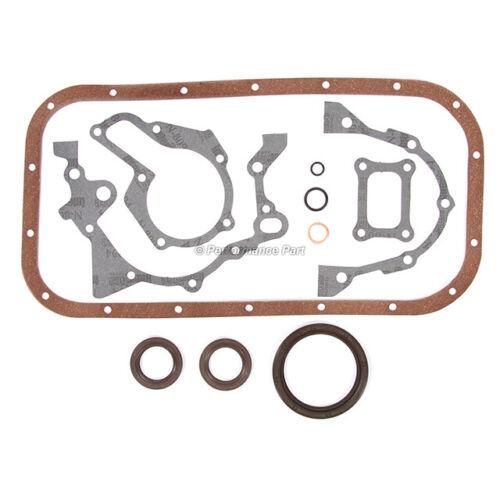 Fits Re-Rings Gaskets Bearings Rings 1.3L Suzuki G13BA 8V