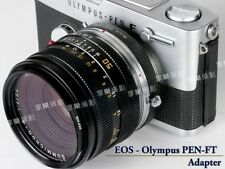 Canon FD mount lens To Olympus PEN F FT FV Camera body adapter