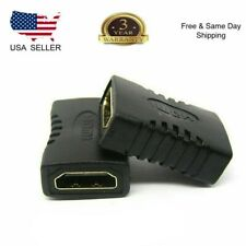 2x HDMI Female to Female Coupler Connector Extender Adapter Cable Hdtv1080p