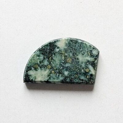Top Plasma Jasper : 26,08 Ct. Natürlicher Grün Plasma Jaspis Aus Madagaskar Hohe QualitäT Und Geringer Aufwand