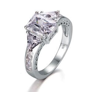 925-Sterling-Silver-Rings-Zircon-Topaz-Crystal-White-Ring-Jewelry-Women-Birthday