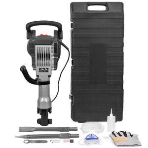 3600W-Heavy-Duty-Electric-Demolition-Jack-Hammer-Concrete-Breaker-W-Case-Glove